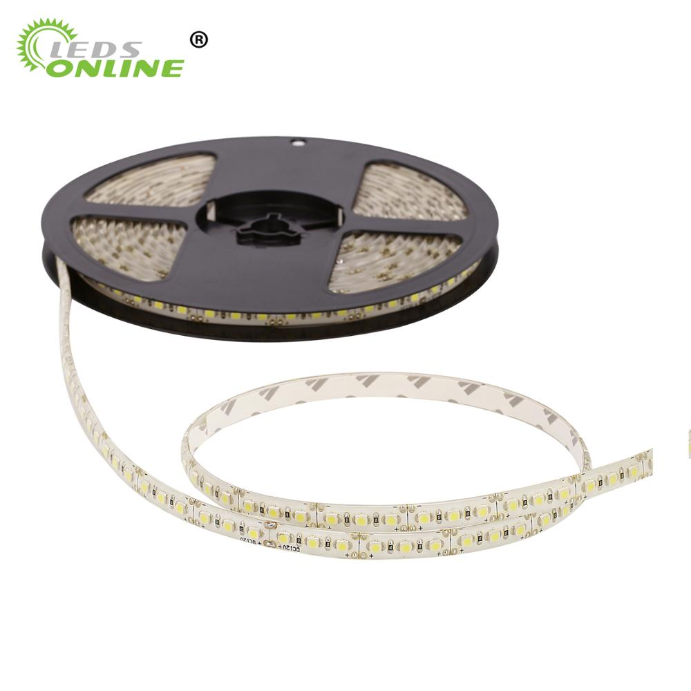 Hot sale SMD3528 120leds/m DC12V Waterproof  led Flexible strip lights strings tapes ribbons novelty households