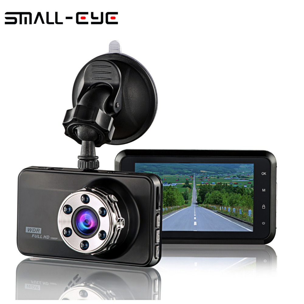 SMALL-EYE 3.0 LCD Car DVR Dash Cam,Novatek Portable Recorder Video Driving Recorder Full HD 1080P, 150 Degree Wide Angle bigbigroad for nissan qashqai car wifi dvr driving video recorder novatek 96655 car black box g sensor dash cam night vision