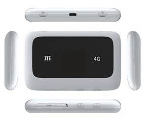 ZTE MF LTE LTE FDD  MHz Mifi Hotspot
