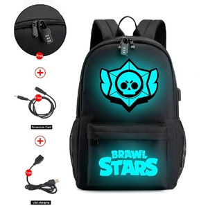 Brawl Stars Bookbag Backpack U