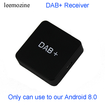 USB DAB Receiver Radio Box Tuner Europe DAB+ ANT Car Digital Audio Broadcasting Antenna for our Android 8.0 Car DVD Navigation