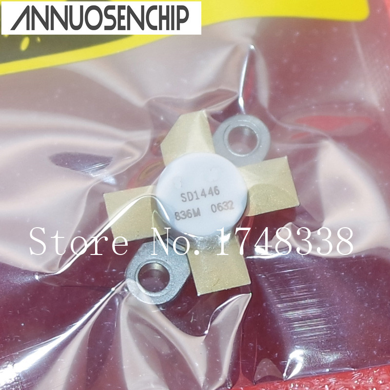 SD1446 RF Transistor NPN 18V 12A 183W Surface Mount M113 стоимость