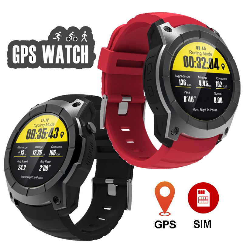 GPS Smart Watch Phone Multi Sports Model Wristwatch Heart Rate Monitor Bluetooth Wrist Watches for Android iOS Health Tracker gps outdoor smart watch v18 supports tf card multi mode sports monitor bluetooth wristwatch clock smart phone for ios android