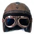 Ретро мотоциклетный шлем для полнолицевого мотокросса  винтажный мотоциклетный шлем с открытым лицом KTM  скутер  гоночный вертолет  пилот