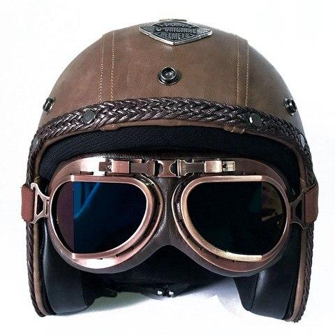 retro capacete da motocicleta para harley moto cara cheia capacete de motocross ktm racing scooter