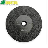 SHDIATOOL 1pc Dia 4/100mm M14 Vacuum Brazed Diamond Flat Grinding Wheel Grinder Disc For Granite Marble Artificial Stone Grind