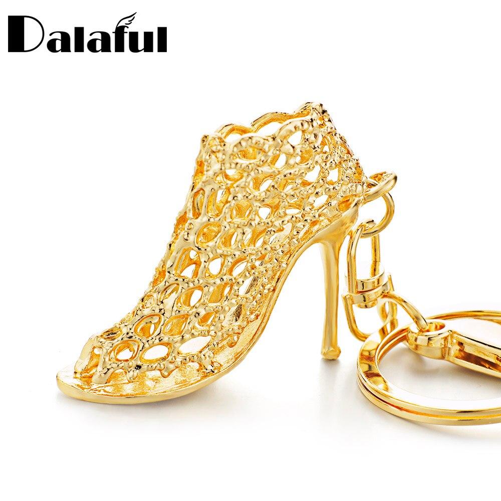 Dalaful بأمتصاص عالية الكعب الأحذية المفاتيح محفظة حقيبة مشبك حقيبة قلادة لسيارة كيرينغ حامل النساء أفضل هدية k230