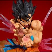 Caixa Original Bandai Dragon Ball Z DBZ Triplo PVC Modelo de Brinquedo Figura de Ação Figuarts Son Goku Dragonball Z Goku Figuras