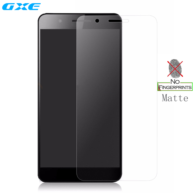 GXE Anti-Fingerprint Matte Tempered <font><b>Glass</b></font> For <font><b>Huawei</b></font> <font><b>Honor</b></font> 9 7X <font><b>5X</b></font> 6 7 Plus P8 P9 P10 Lite Mate 10 Frosted Screen Protector Film image