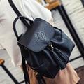 LEFTSIDE 2016 Fashion Women Leather Backpacks Tassel Schoolbags For Teenagers Girls Travel Bags Women's Small Bagpacks Back pack