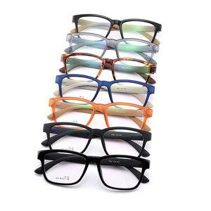 Image 5 - Gmei البصرية Urltra Light TR90 كامل حافة الرجال إطارات نظارات بصر المرأة البلاستيك قصر النظر نظارات 7 ألوان اختياري M1011