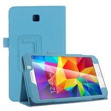 """Роскошные флип кожаный чехол для Samsung Galaxy Tab 4 7.0 7 """" SM-T230 SM-T231 SM-T235"""