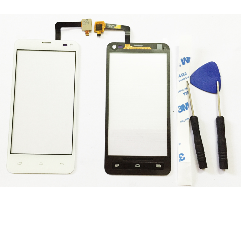 Touch Panel For Fly IQ4416 ERA Life 5 IQ 4416 Digitizer Touch Screen+Free tools+Sticker Glue Repair Parts New Original