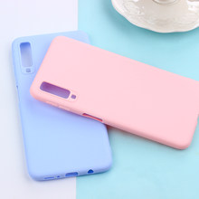Matte Candy TPU Case Voor Samsung Galaxy A7 2018 M10 M20 S10 Plus S10e S8 S9 Note 9 8 5 s7edge J3 J5 J7 2016 2017 J4 + J6 EU A6 A8(China)