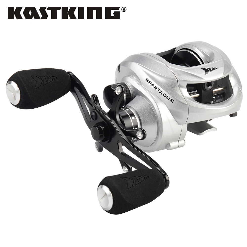 KastKing Spartacus Baitcasting Fishing Reel Magnetic and Centrifugal Dual Brake  Right or Left Comfortable Handle Bass FishingKastKing Spartacus Baitcasting Fishing Reel Magnetic and Centrifugal Dual Brake  Right or Left Comfortable Handle Bass Fishing