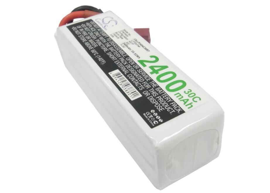 Batterie Cameron Sino 2400 mah pour batteries RC CS-LP2404C30RTBatterie Cameron Sino 2400 mah pour batteries RC CS-LP2404C30RT