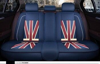 Leather car rear seat covers For Hyundai solaris ix35 i30 ix25 Elantra accent tucson Sonata auto accessories car styling