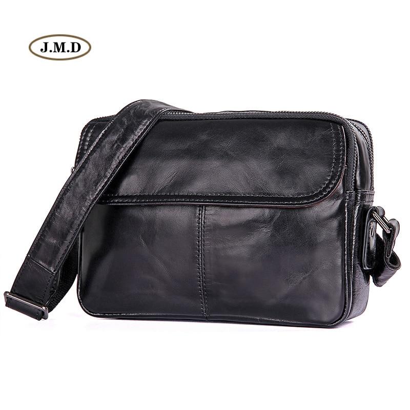 J.M.D New Arrivals Genuine Leather Fashion Design Shoulder Bag Crossbody Bag Two Color Portable Flap Messenger Bag 1026A/B цены онлайн