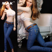 1/6 Female Skinny Jeans 3 colors for 12 inches Action Figures Clothes