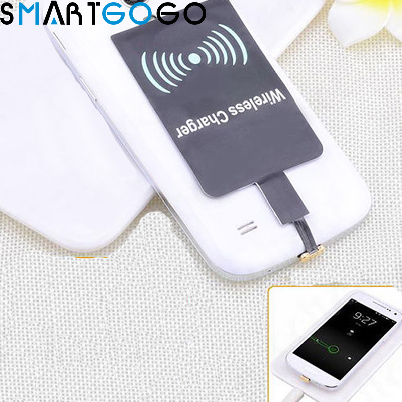 Qi Wireless Charger Receiver Charging Adapter Micro USB For Samsung Xiaomi Huawei / For Iphone 5S 5C 6 6plus – 4.7 Inch