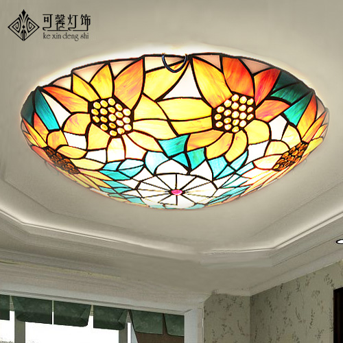European Garden sunflower ceiling lamps, modern minimalist bedroom study living room lamps lighting LED lamp iron YangEuropean Garden sunflower ceiling lamps, modern minimalist bedroom study living room lamps lighting LED lamp iron Yang