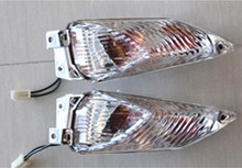 Clear Len Motorcycle Left & Right Rear Turn Signal Light Indicator Lamp For Suzuki GSXR1000 GSX-R1000 2009-2014 2010 2011 2012 1