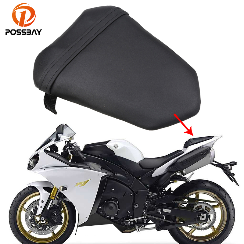 Possbay Motorcycle Seats Rear Pillion Motocross Cafe Racer