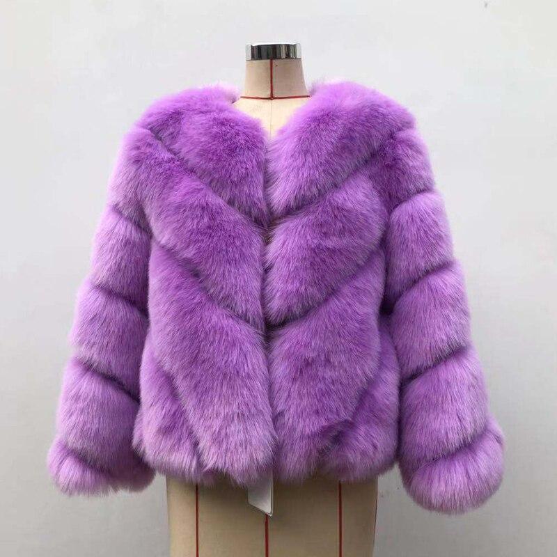 furrure Stop118 abrigo manga