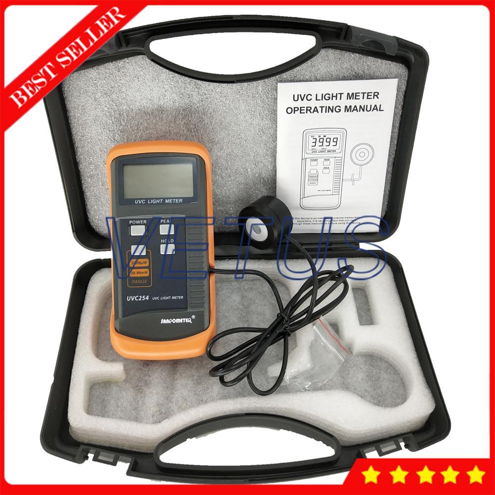 Digitale Lux Meter UVC Licht Meter von UV Gesundheitseinheit Intensität meter detektor UVC254-in Füllstandmessgeräte aus Werkzeug bei AliExpress - 11.11_Doppel-11Tag der Singles 1