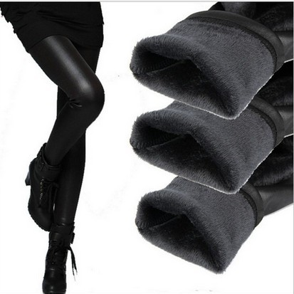 2016  New Fashion Skinny  Elastic Waist  Pencil Pants  Leggings girls Casual Warm Winter  Knitted Thick  Super Elastic