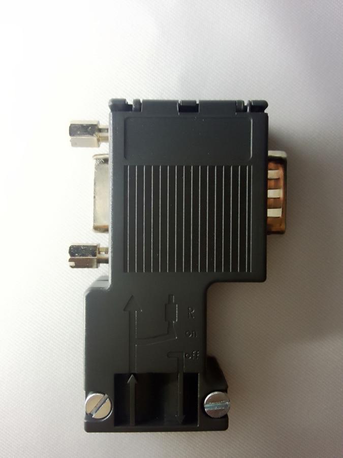 NEW! Compatible 6ES7972-0BB12-0XA0 , 6ES7 972-0BB12-0XA0 , 6ES79720BB120XA0 PROFIBUS Connector New ,Free Shipping 6es7223 1ph22 0xa0