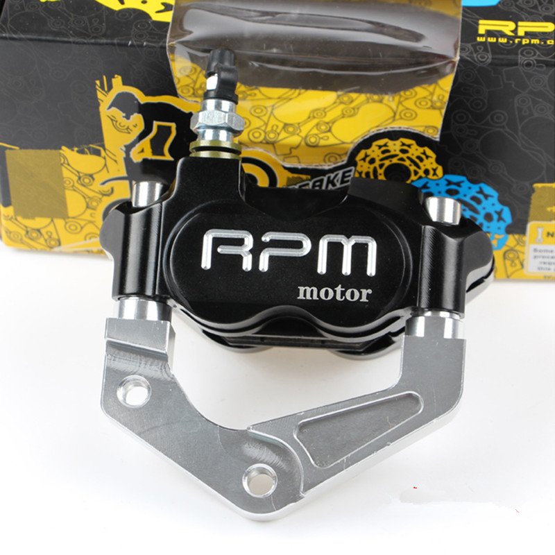 RPM Brand CNC Motorcycle Brake Calipers+200mm/220mm Disc Brake Pump Adapter Bracket Kit For Yamaha Jog 50 rr BWS 100 Aerox Nitro keoghs motorcycle brake disc brake rotor floating 260mm 82mm diameter cnc for yamaha scooter bws cygnus front disc replace