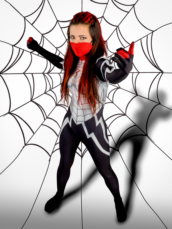 Silk Spider morph suit Silk Cindy Moon Spider Costume Female/Woman/Girl Spiderman Cosplay Halloween Costume-in Boys Costumes from Novelty u0026 Special Use on ...  sc 1 st  AliExpress.com & Silk Spider morph suit Silk Cindy Moon Spider Costume Female/Woman ...