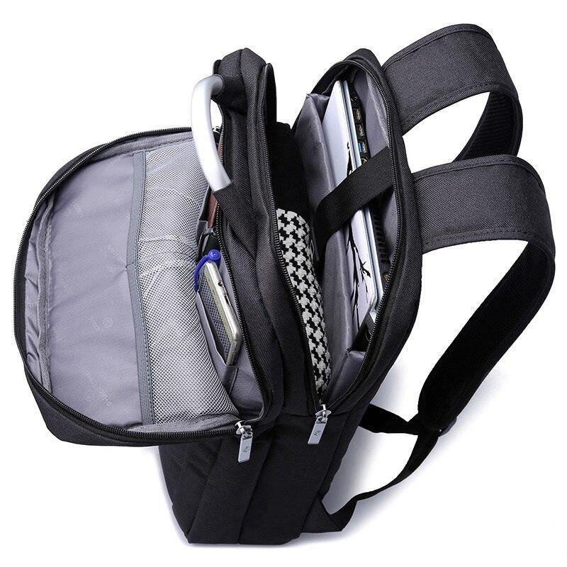 Women Backpack 14 Inch Laptop Bag Men Backpack School Bags Mochila Hombre Feminina Masculina 4 Colors Rugzak Back Pack Bag Pack in Backpacks from Luggage Bags