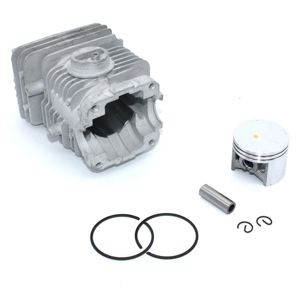 Cylinder Piston Kit 43MM For Homelite Ryobi CSP4518 CSP4520 UT74125D UT74127D UT10942D UT10550 PCN4550 PCN4545 RY74007D RY74005D