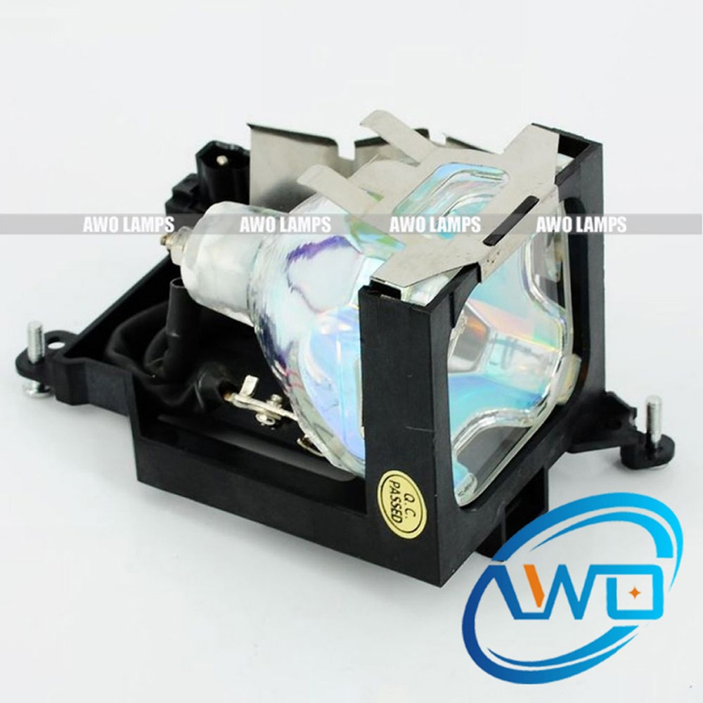 AWO LV-LP20 Projector Lamp Compatible Module for CANON LV-S3 Shipment within 48hrs 180 Day Warranty High Quality Lamp compatible projector lamp for canon lv lp19 9269a001aa lv 5210 lv 5220 lv 5220e