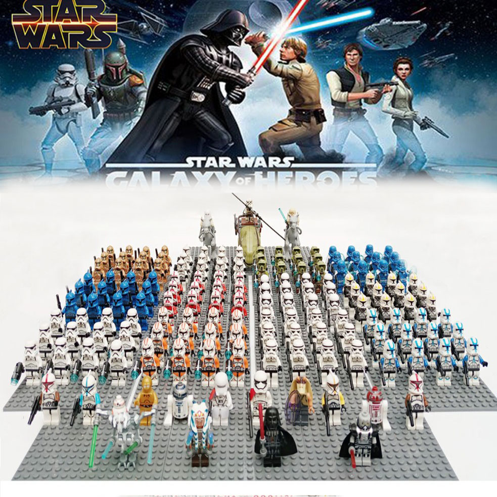 Star Wars Rebels Imperial Clone Storm Trooper Senate Commander With Weapon Compatible Brick Building Block KidS Toy 13pcs/lot
