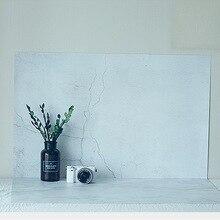 Натуральный трещина серый стены кирпичные стены фотографии Задний план для студии реквизит для фотосессии тонкий фотографические фонов Бумага 55×83 см