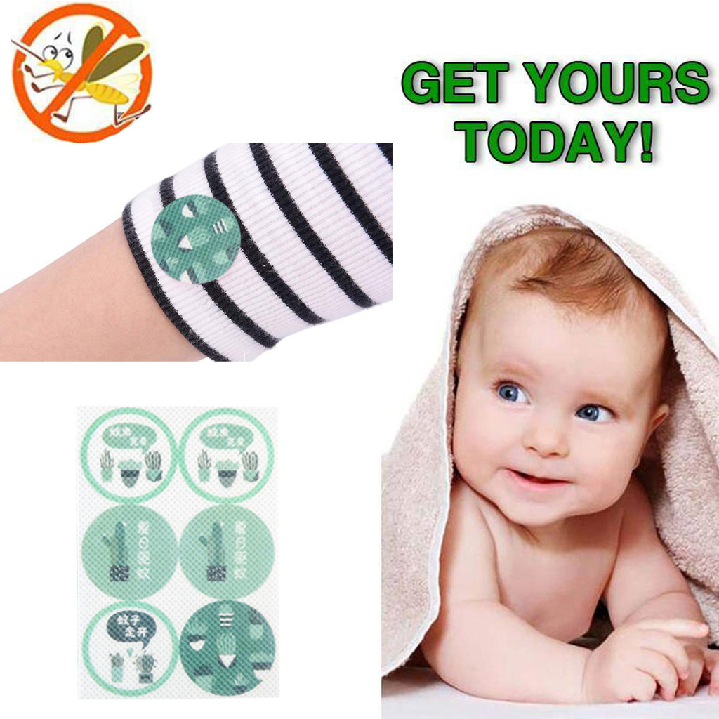 ISHOWTIENDA 2019 New Mosquito Repellent Patch Cactus Protect Kids Baby Mosquito Sticker Set Hot sale(China)