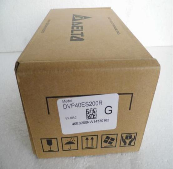 New Original DVP40ES200R PLC ES2 series 100-240VAC 24DI 16DO Relay output new original dvp40eh00r3 delta plc eh3 series 100 240vac 24di 16do relay output
