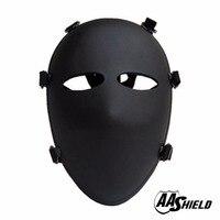 AA щит баллистический козырек пуленепробиваемая Полнолицевая маска для тела бронемаска NIJ Lvl IIIA 3A Teijin Aramid код маска козырек
