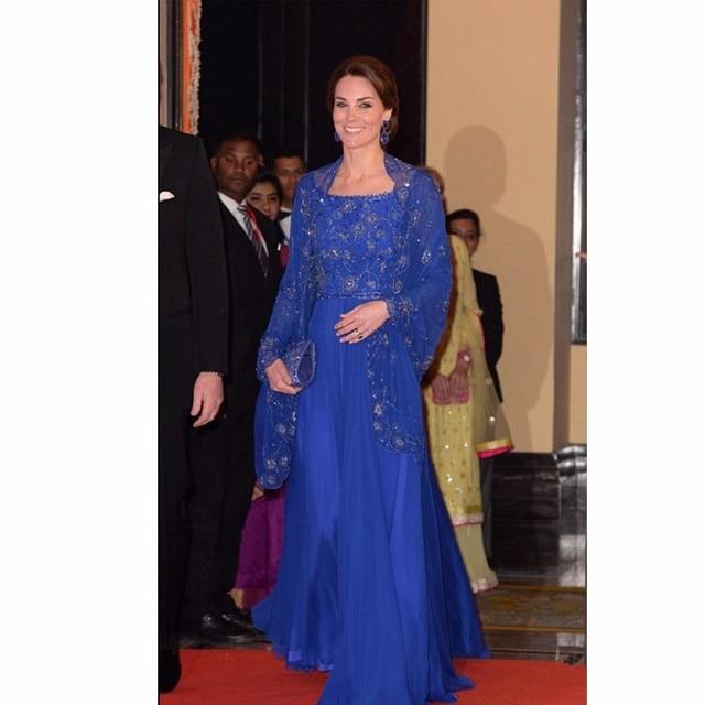Kate Middleton Kaftan Appliqued Beaded Muslim Dresses ...