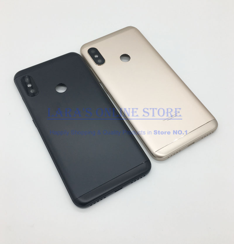 New For <font><b>Xiaomi</b></font> <font><b>mi</b></font> <font><b>A2</b></font> Lite Back <font><b>Battery</b></font> Door Housing Case <font><b>Cover</b></font> for <font><b>Xiaomi</b></font> Redmi 6 Pro <font><b>Battery</b></font> <font><b>Cover</b></font> Repair Spare Parts image