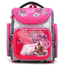 2019 Cartoon Orthopedic School Backpacks for Girls Boys Tank Car Pattern Backpack Student School Bags Mochila Infantil Grade 1-4