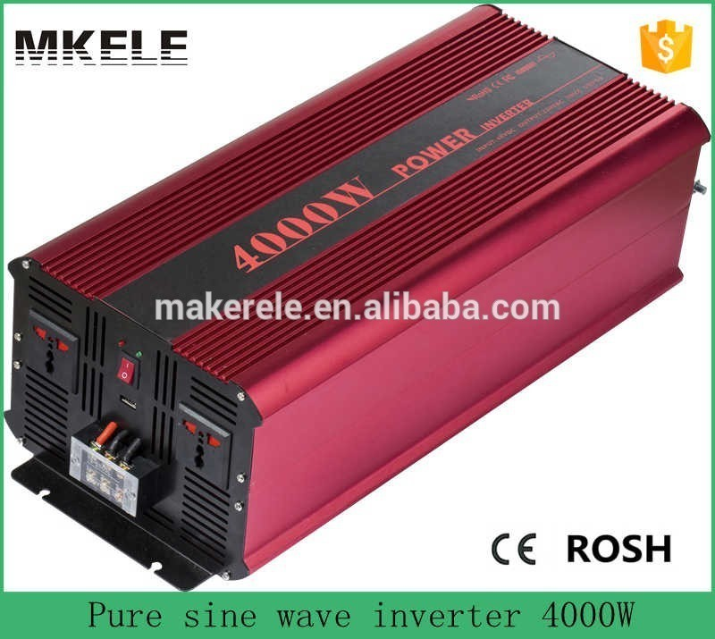 купить MKP4000-121R industrial inverters off grid 4000 watt pure sine wave inverter 12v to 110v/120v power inverter made in china по цене 23986.12 рублей