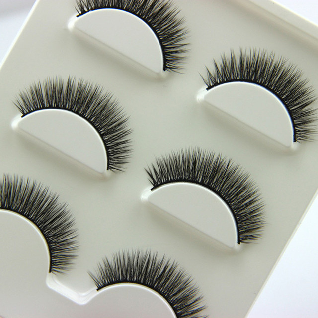 Hot Sale New Womens Fashion 3 Pairs Luxurious 3d False Eyelashes