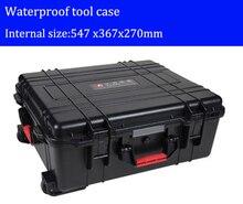 Caja de herramientas caja de herramientas con ruedas caja de ABS resistente al Impacto de sellado a prueba de agua kit de piezas de Repuesto para equipo de seguridad con pre-corte espuma