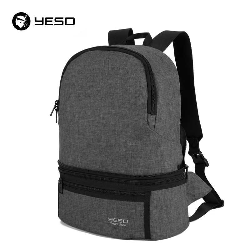 YESO Durable Lightweight Packable Backpack For Men Water Resistant Travel Backpacks For Women