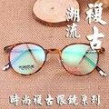 Round-framed óculos coreano quadros TR90 upscale limpar vidros ópticos homens óculos óculos de armações de óculos de olho para as mulheres 9084