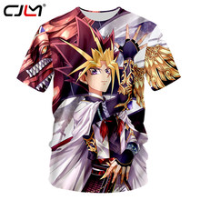 CJLM Casual Tshirts 2018 Harajuku Men Cool Print Yu Gi Oh Monster 3d T Shirt Summer Tops Short Sleeve Hip Hop Streetwear Tees(Hong Kong,China)